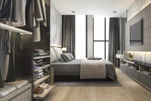 Sypialnia z szafą – pomysły na aranżację