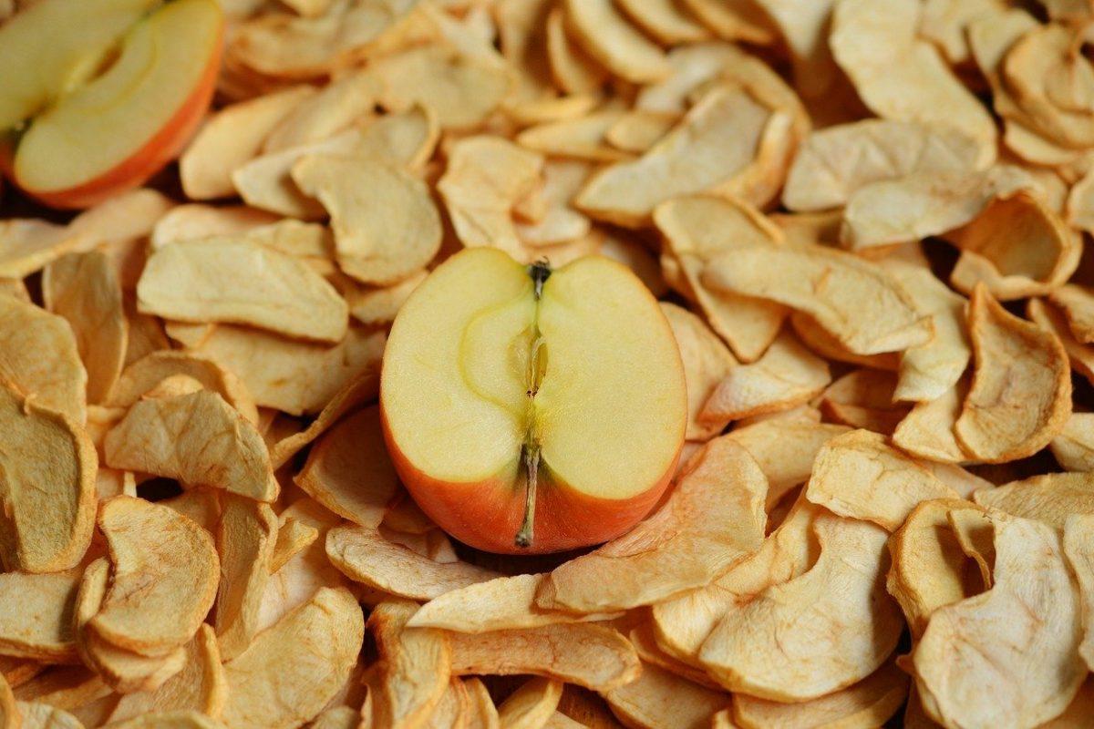Jak zrobić suszone jabłka?