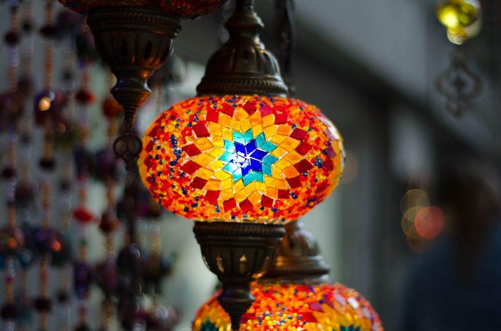 la lampa mozaikowa wisząca