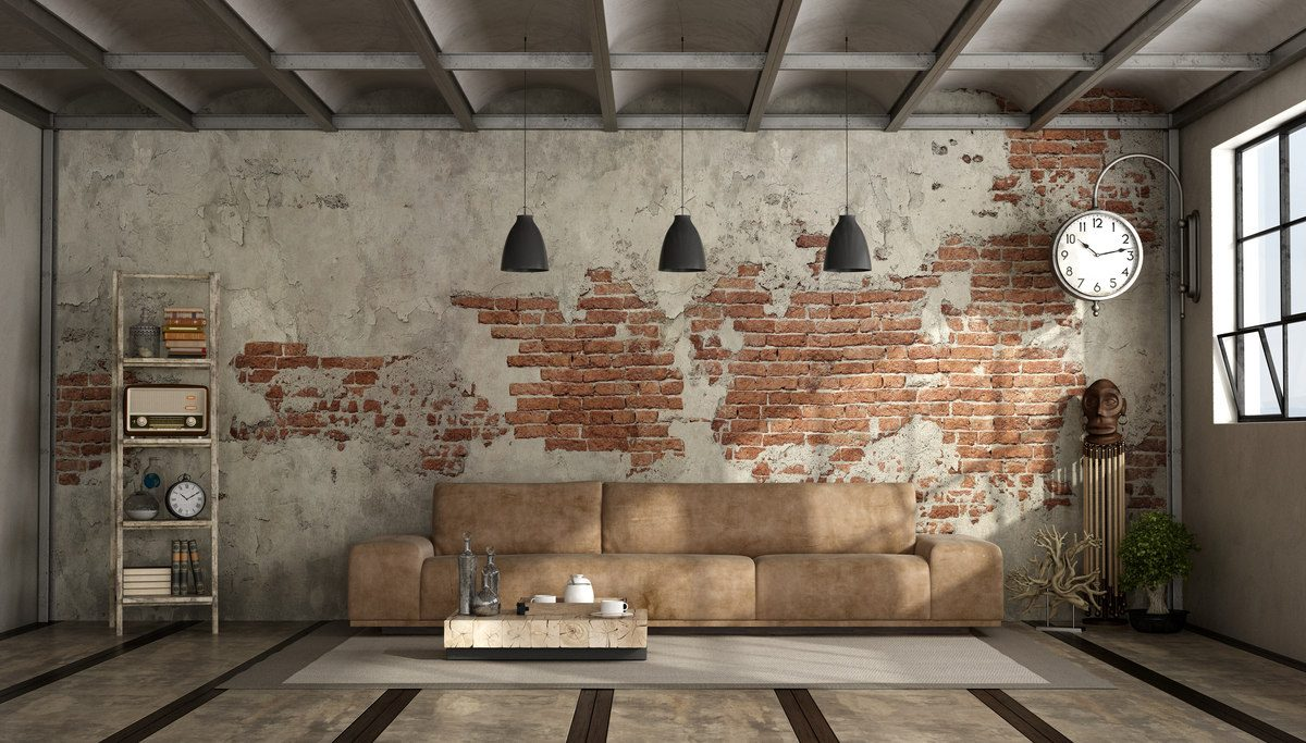 Klimat industrialny w Twoim salonie – zainspiruj się!