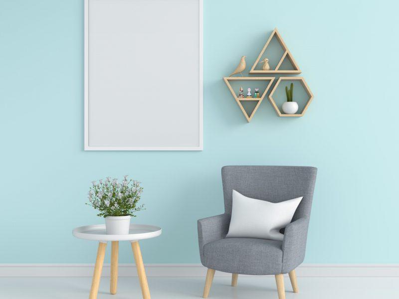 Modułowe półki na ścianę