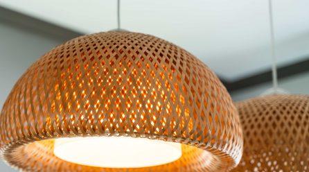 Naturalnie piękne. Lampy bambusowe do kuchni