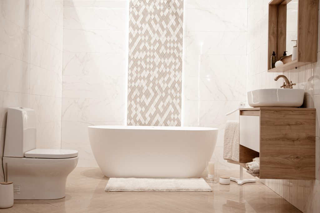 łazienka w stylu nowozesnym