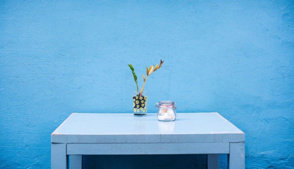 bielony stół